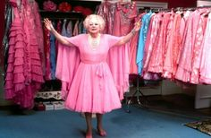 An I thought my closet was large?: Barbara Cartland... Find your colour and stick to it!