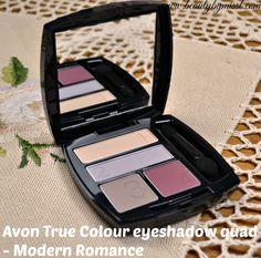 Avon True Colour Eyeshadow Quad – Modern Romance via @beautybymissl