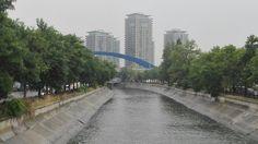 Rain in Bucharest.