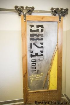 Super cool and easily-to-customize Man Cave Door