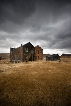 Love ghost towns. Leaves so much to the imagination - Bodie Ghost Town, CA