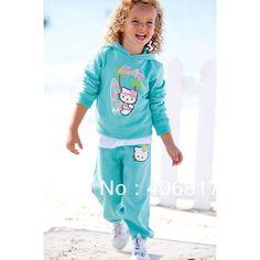 Goedkope , koop rechtstreeks van Chinese leveranciers: Nieuwe casual kleding meisjes 2- stuks outfit kinderen pak lente herfst kleding hello kitty hat t- shirt + lange broek 80cm-120cmGrootte: 80cm. 90cm. 100cm. 110cm. 120cm