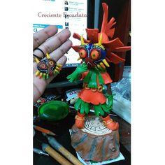 Skullkid by Magnusgramm on DeviantArt Legend Of Zelda, Sculptures, Deviantart, Handmade, Hand Made, Sculpting, Statue, Sculpture, Arm Work