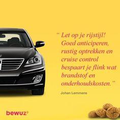 Besparen doe je zo! #Bewuzt #besparen #geldbesparen #geld #auto #cruisecontrol