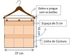 ORGANIZADORES DE CROCHÊ
