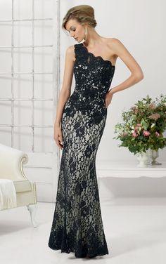 Sheath Natural Sleeveless One Shoulder Floor-length Evening Dresses-Rosa Novias AU