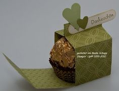kleines Geschenkshäuschen für Ferrero Roche / little present box for praline