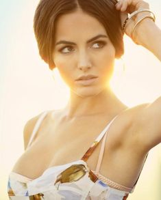 Camilla Belle.  If i could have anybody's face it would be hers. She is flawless.