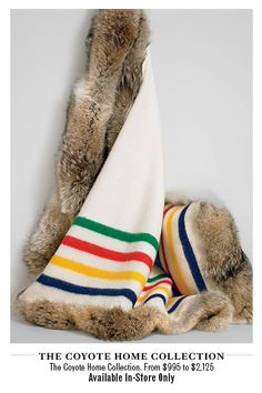 HBC Blanket & Fur (pinned by www.redwoodclassics.net)