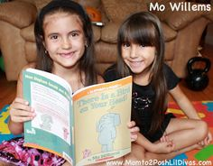 Mom to 2 Posh Lil Divas: Summer Virtual Book Club: Mo Willems' There Is a Bird on Your Head!