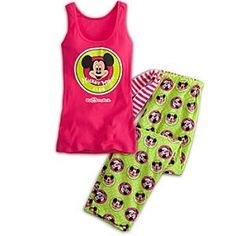 The Mickey Mouse Club Pajama Set for Women - Walt Disney World | Disney StoreThe Mickey Mouse Club Pajama Set for Women - Walt Disney World - Lounge around the clubhouse with your favorite mouse. Mickey's soft ribbed cotton tank top is paired with cool cotton print loungepants for a sleeper set that will make you leader of the night-club!