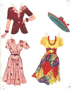 Lana Turner Paper Dolls, 1942 Whitman of Making Clothes From Old Clothes, Reuse Old Clothes, Old Baby Clothes, Paper Clothes, Clothes Crafts, Doll Clothes, Barbie Paper Dolls, Vintage Paper Dolls, Felt Dolls