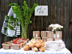 backyard harvest party