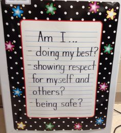 Classroom Management Poster