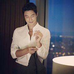 When he was sexily getting undressed before coming to bed. | 43 Times Daniel Henney Ruined You For Other Men
