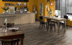 Combine melamine Natural Nebraska Oak with countertop Light Concrete. Countertops, Restaurant, Smoke, Modern, Table, Furniture, Nebraska, Concrete, Design