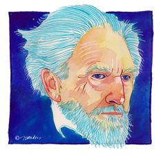 "Fine Art Daily - October 30  Today is Ezra Pound's birthday.  ""Man reading should be man intensely alive. The book should be a ball of light in one's hand.""  ― Ezra Pound  http://www.poets.org/poet.php/prmPID/161"