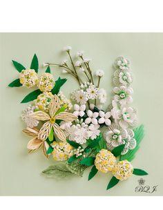 Ботанический квиллинг Японии. Обсуждение на LiveInternet - Российский Сервис Онлайн-Дневников