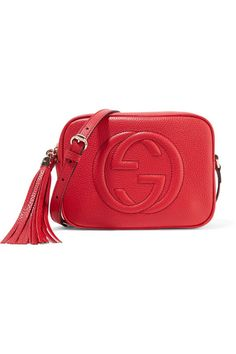 Gucci - Soho Disco Textured-leather Shoulder Bag - one size 4bed35b408