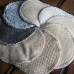 You will love using these eco-friendly alternative to disposable cotton balls for removing makeup, applying toner and washing your face. Use them for anything you would use a cotton ball or disposable round cotton pad for, then run them through the laundry and use again and again. Make up removal may result in stains or discoloration of these pads depending on the type of make up but they will remain lusciously soft over time.  Each listing includes 12 two-layer rounds, approximately 3…