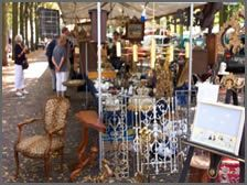 Lange Voorhout market in Den Haag