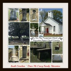 Old Cemeteries in South Carolina; 110 Year-old Church; #South Carolina #family travel #cemetery