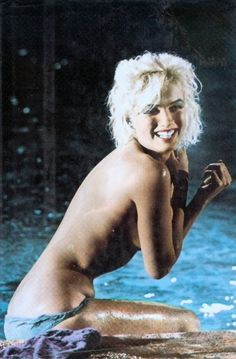 Marilyn Monroe / Born: Norma Jeane Mortenson, June 1, 1926 in Los Angeles, California, USA / Died: August 5, 1962 (age 36) in Los Angeles, California, USA,  in her last movie