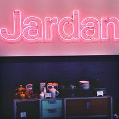 w-u-n-d-e-r:  Neon perfection @Jardan Australia  (at Jardan Furniture)