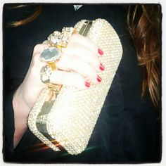 Statement clutches from In Love Again #souq #fashion