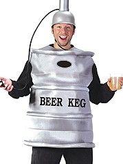 Bucks Party Keg Funny Costume