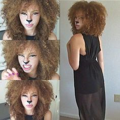 Top 17 Easy Animal Face Painting Designs – Unique Halloween Holiday Party Project - Homemade Ideas (7)