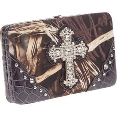 #RealtreeMAX-4 Women's #Camo Cross #Wallet $19.99