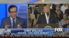 """""""Lord knows Barack Obama criticized Fox News. … But it's different from saying that we are an enemy of the American people,"""" Wallace said Sunday on """"Fox & Friends."""""""