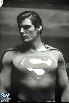 Super handsome Chris Reeve.