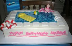 pool cakes | Swimming Pool Cake | Flickr - Photo Sharing!