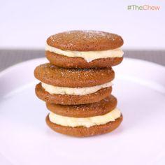 Carla Hall's Lemon Gingersnap Sandwich