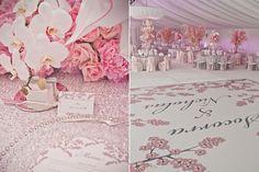 ► Detalles de una boda rosa. #boda #rosa
