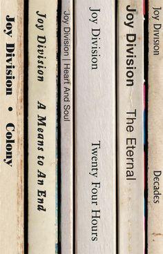 Joy Division Closer Album As Books Poster