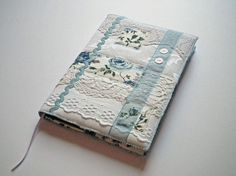 A5 Notebook Sketchbook Journal Diary Cover by CiesseTextiles