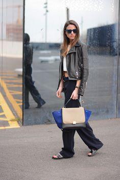 Zara Sandals + Celine Bag www.redreidinghood.com