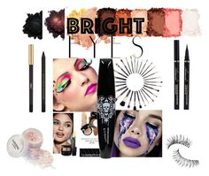 """My bold eyes"" by fashion-for-treat ❤ liked on Polyvore featuring beauty, Bobbi Brown Cosmetics, NYX, Trish McEvoy, Yves Saint Laurent and brighteyes"