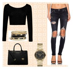 """""""Untitled #3"""" by pinkoala on Polyvore featuring Lovers + Friends, Boohoo, MICHAEL Michael Kors, GUESS and Marc by Marc Jacobs"""