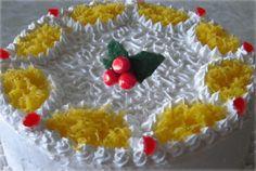 Bolo de Natal com Merengue