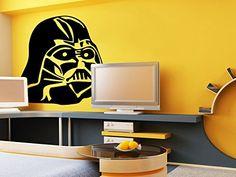Vinyl Wall Decal Sticker Bedroom Robot Star Wars Boys Darth Vader Gift Yoda R1655 CreativeWallDecals http://www.amazon.com/dp/B00V4WLWL4/ref=cm_sw_r_pi_dp_f9Kevb0M2TN0T