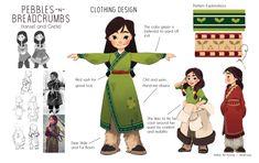 Character Design Portfolio – Working Not Working