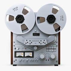 Akai Gx 747 Reel To Reel Tape Recorder Electro