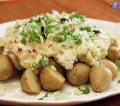 Warm #Cheese #Paneer and #Potato #Salad - Quick Tasty Salad #Recipe By Annuradha Toshniwal