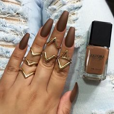 Coffin Nails Are The New Drop Dead Gorgeous Manicure Trend | Real ...