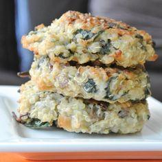 Quinoa Breakfast Cakes (using sweet potatoes to make them paleo)