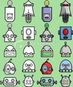 Robot heads
